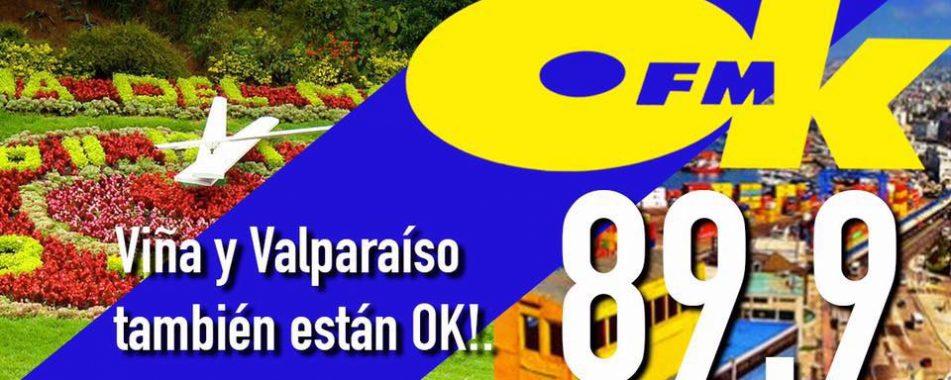 Nueva Señal 89.9: ¡Viña y Valparaíso también están OK!