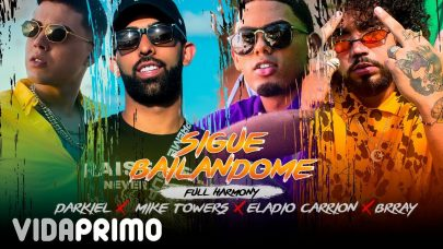 1. YANNC, DARKIEL, MYKE TOWERS, ELADIO CARRION, BRRAY – SIGUE BAILANDOME