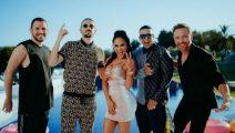 Daddy Yankee, Natti Natasha y David Guetta se unen en Instagram