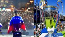 ¡Futbol y música! Sebastián Yatra en el Festival de la Champions