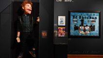 Inauguran exposición que homenajea a Ed Sheeran
