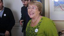 Michelle Bachelet hizo una lista de canciones en Spotify