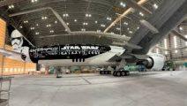 Latam Airlines presenta su avión inspirado en Star Wars