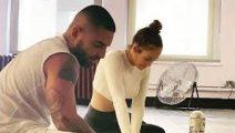 Maluma y Jennifer Lopez inician el rodaje de Marry Me