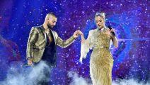 Maluma y Jennifer Lopez juntos en el Madison Square Garden