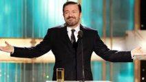 Ricky Gervais será anfitrión de los Globos de Oro nuevamente