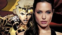 Filtran imágenes de Angelina Jolie en The Eternals