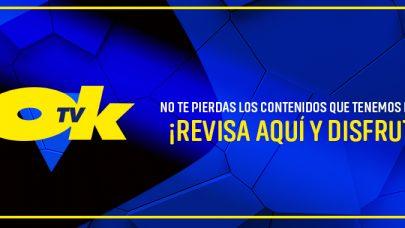 NO TE PIERDAS LOS CAPÍTULOS Y CONTENIDO DE OK TV