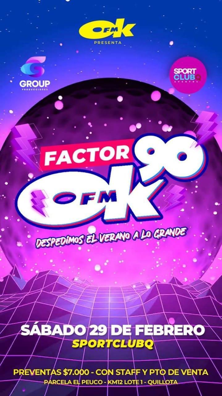 Fiesta Factor 90 Quillota 2020