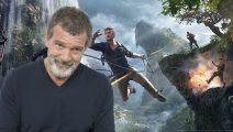 Antonio Banderas se suma al elenco de Uncharted