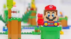 Anuncian sets de Lego de Super Mario