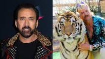Nicolas Cage será Tiger King