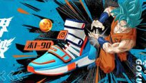 Anta lanza zapatillas de Dragon Ball Super