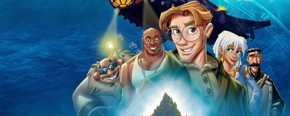 Disney estaría planeando un live-action de Atlantis