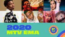 Estos son los nominados a los MTV EMA 2020