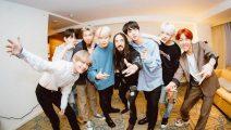 Steve Aoki celebra récord con BTS