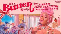 BTS y Megan Thee Stallion se unen en el remix de Butter