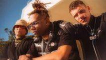Pablo Chill-E, Aron Piper y Polimá Westcoast juntos en Cu4tro