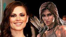 Hayley Atwell será Lara Croft