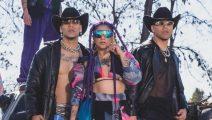 Power Peralta y Flor de Rap juntos en Maña